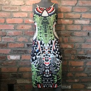 Hale Bob Aztec dress - size small